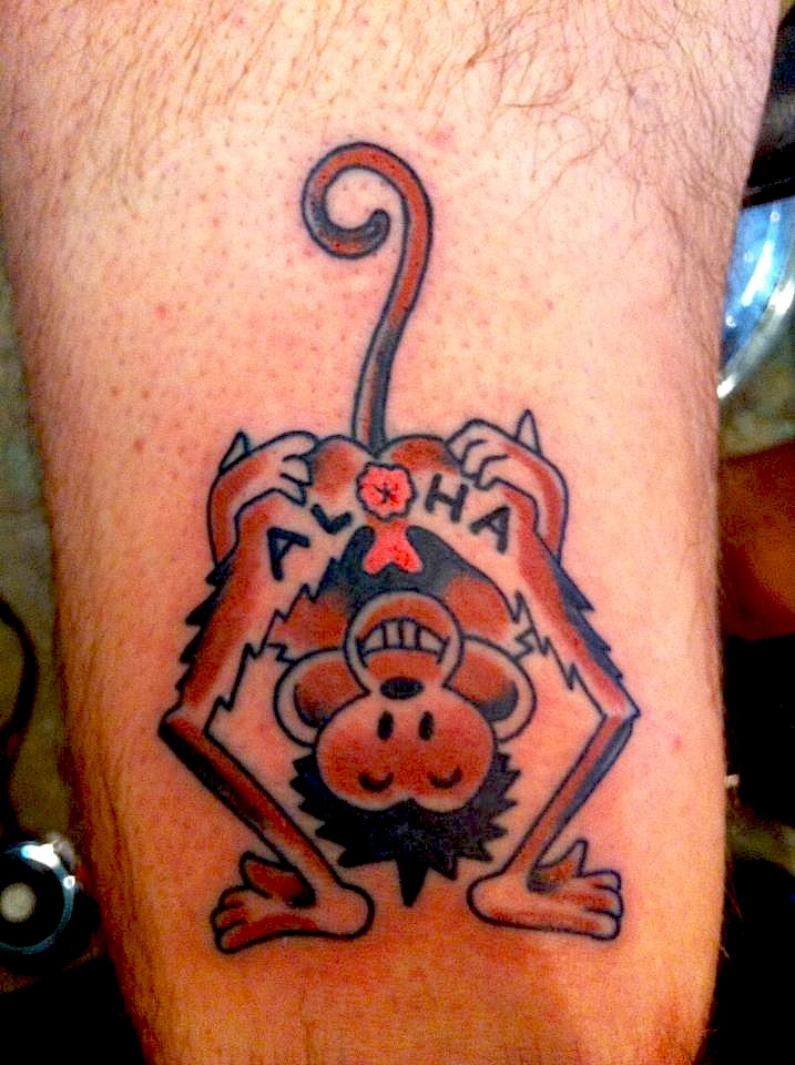 Jimmy the saint tattoo artist l g d nola for New orleans tattoos